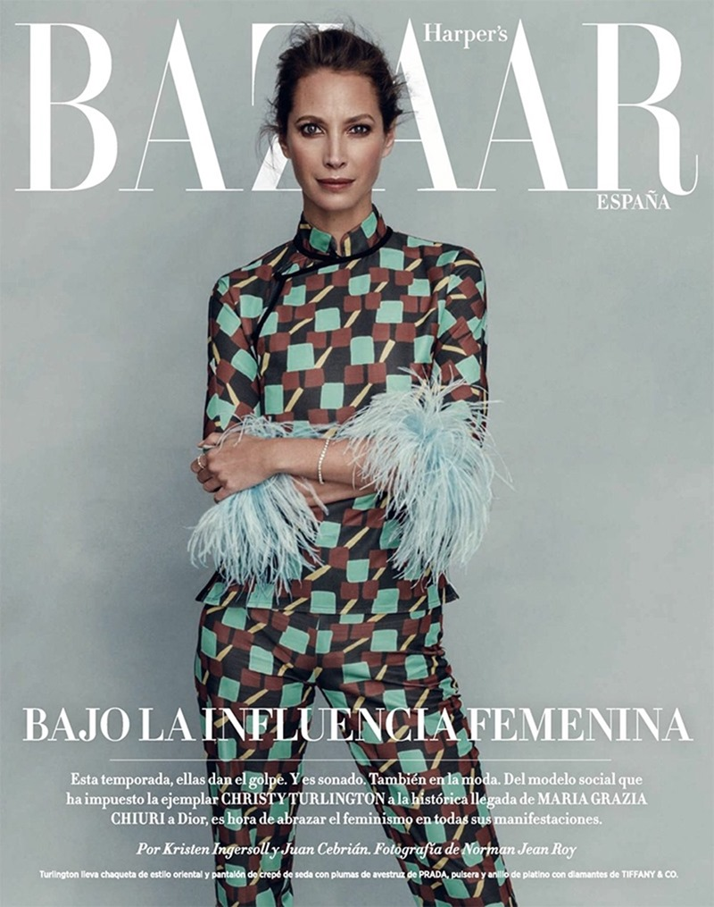 HARPER'S BAZAAR SPAIN Christy Turlington by Norman Jean Roy. Kristen Ingersoll, March 2017, www.imageamplified.com, Image Amplified9