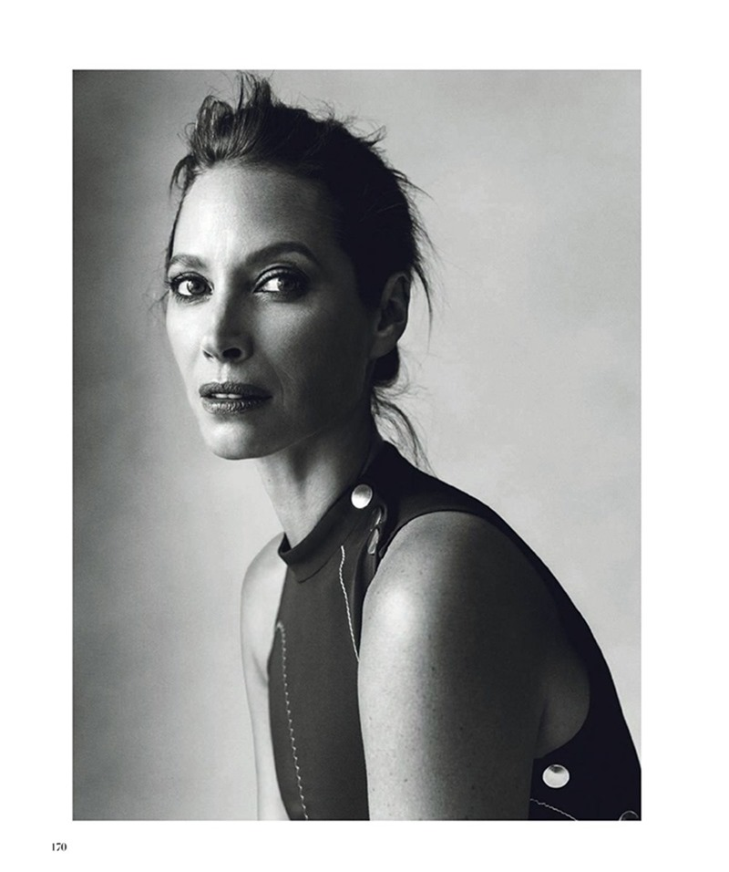 HARPER'S BAZAAR SPAIN Christy Turlington by Norman Jean Roy. Kristen Ingersoll, March 2017, www.imageamplified.com, Image Amplified7
