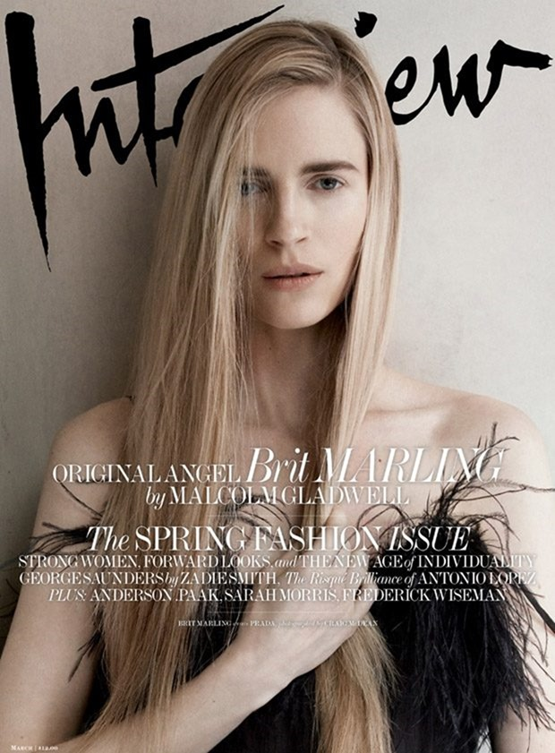 INTERVIEW MAGAZINE Brit Marling by Craig McDean. Karl Templer, March 2017, www.imageamplified.com, Image Amplified10