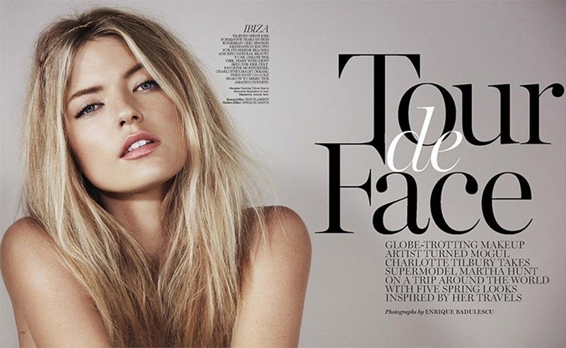 MARIE CLAIRE MAGAZINE Martha Hunt by Enrique Badulescu. Enrique Campos, March 2017, www.imageamplified.com, image Amplified5