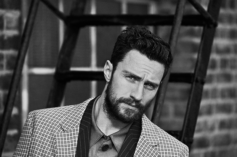 MR PORTER'S THE JOURNAL Aaron Taylor-Johnson by Ben Weller. Way Perry, Spring 2017, www.imageamplified.com, Image Amplified1