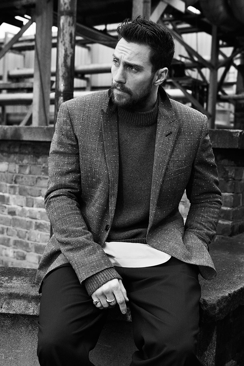 MR PORTER'S THE JOURNAL Aaron Taylor-Johnson by Ben Weller. Way Perry, Spring 2017, www.imageamplified.com, Image Amplified4