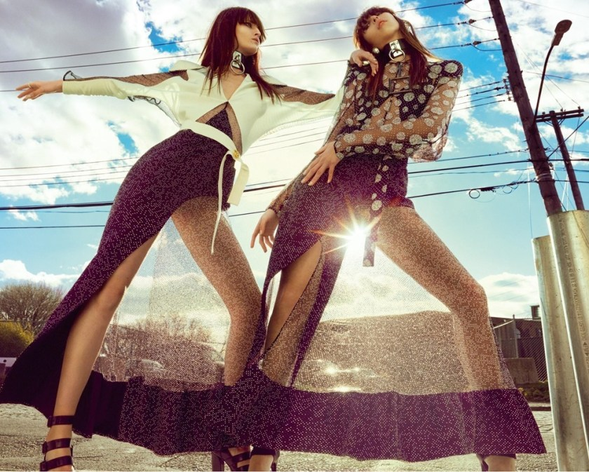 NUMERO MAGAZINE Issa Lish & Katlin Was by Greg Kadel. Charles Varenne, March 2017, www.imageamplified.com, Image Amplified5