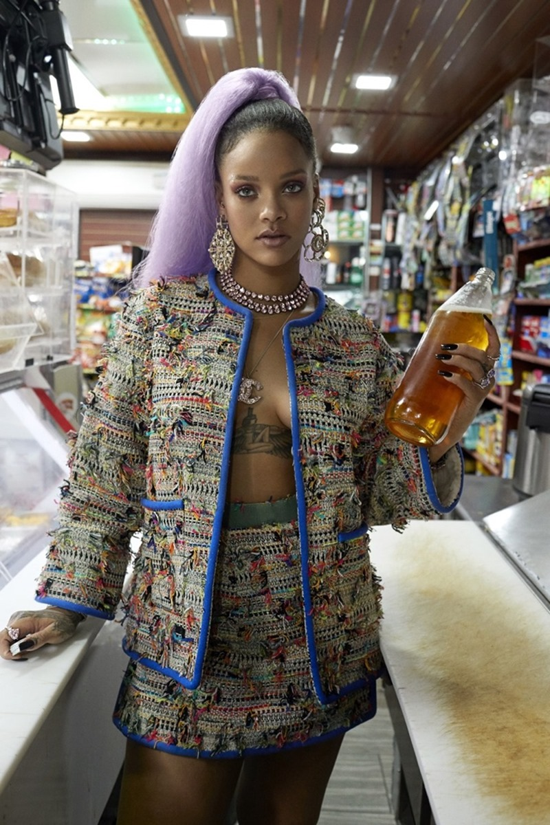 PAPER MAGAZINE Rihanna by Sebastian Faena. Farren Fucci, Shannon Stokes, March2017, www.imageamplified.com, Image Amplified3