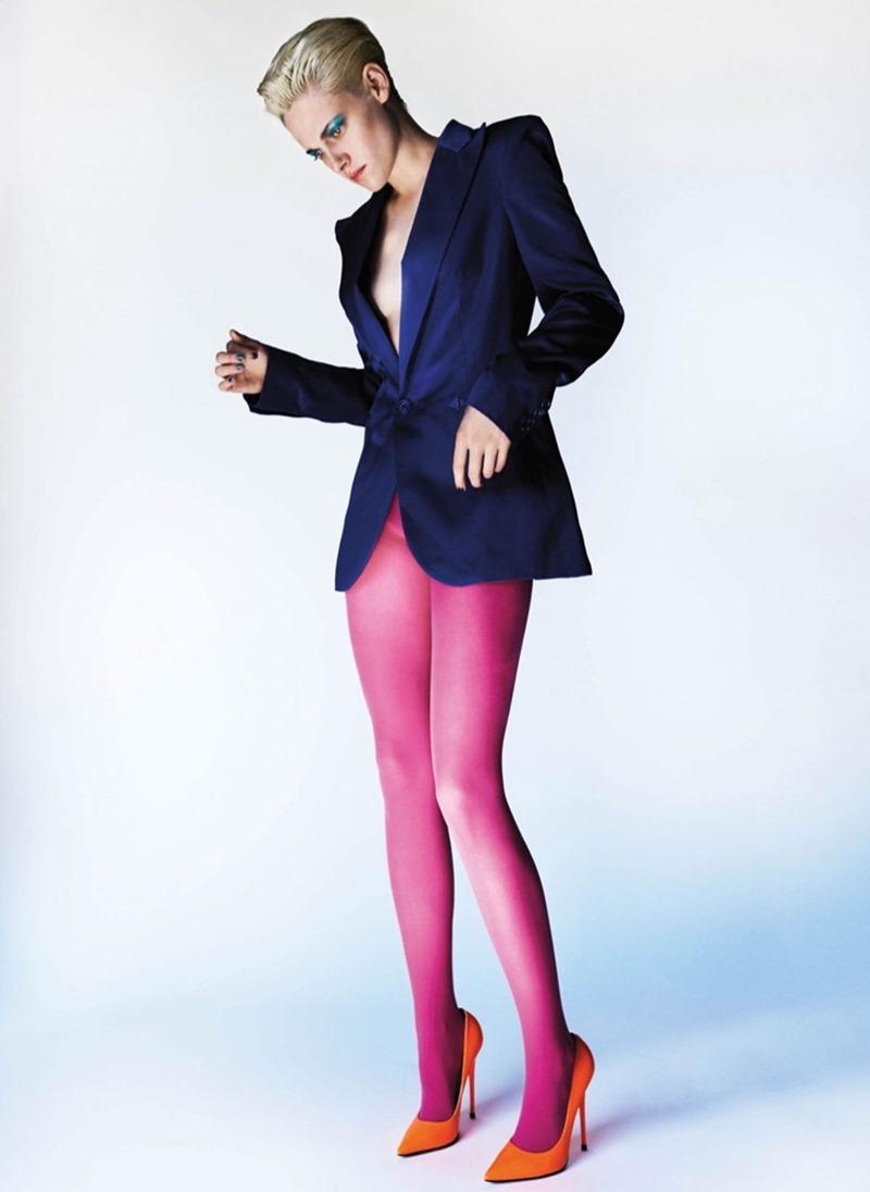 V MAGAZINE Kristen Stewart by Mario Testino. Paul Cavaco, Spring 2017, www.imageamplified.com, Image Amplified2