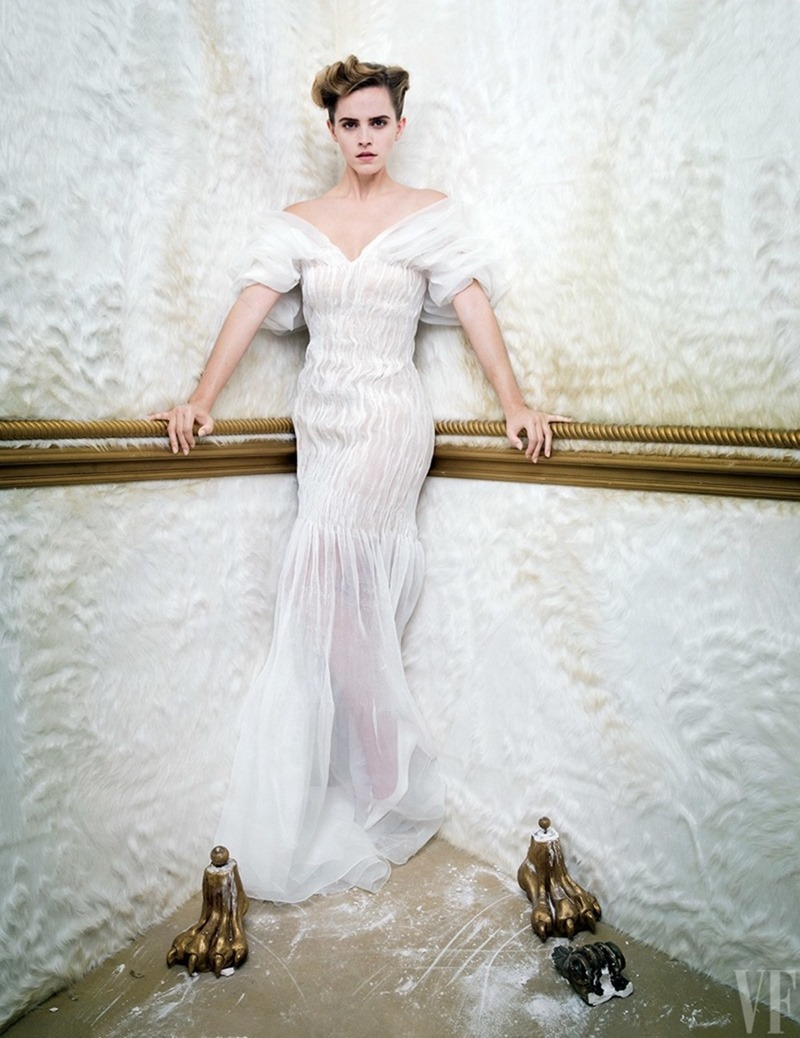 VANITY FAIR MAGAZINE Emma Watson by Tim Walker. Jessica Niehl, March 2017, www.imageamplified.com, Image Amplified2