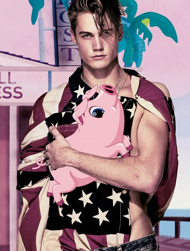 VMAN MAGAZINE The Boys of Summer by Steven Klein. Nicola Formichetti, Portis Wasp, Spring 2017, www.imageamplified.com, Image Amplified10