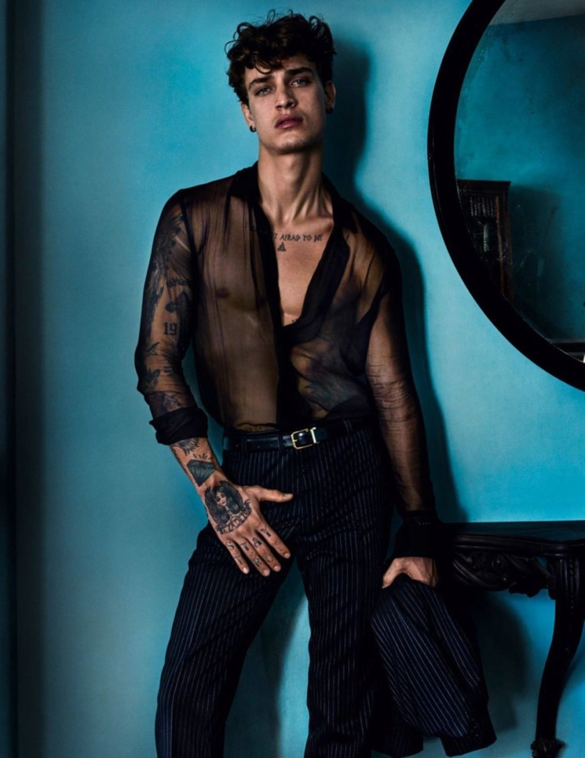 VOGUE HOMMES City of the Gods by Mario Testino. Anastasia Barber, Spring 2017, www.imageamplified.com, Image Amplified4