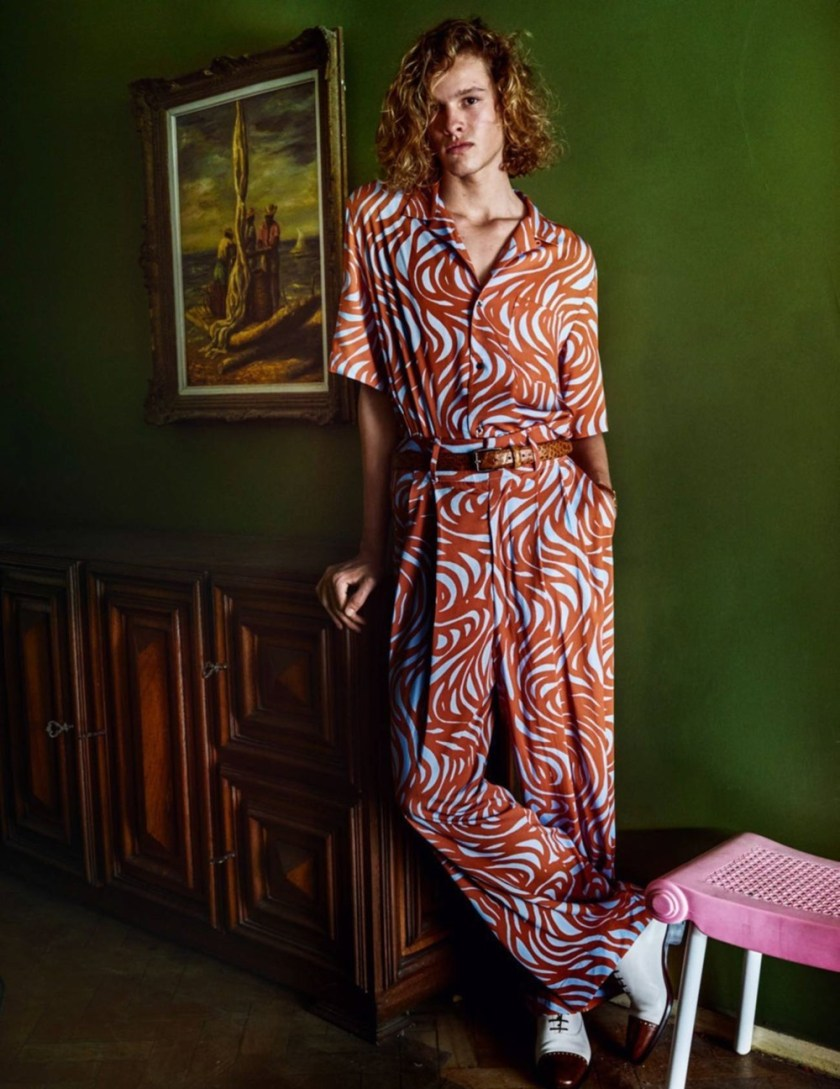 VOGUE HOMMES City of the Gods by Mario Testino. Anastasia Barber, Spring 2017, www.imageamplified.com, Image Amplified13