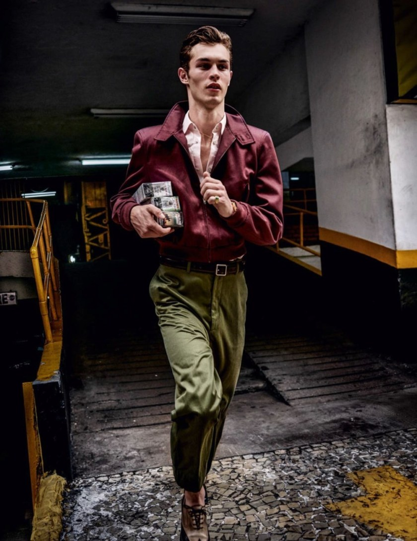 VOGUE HOMMES City of the Gods by Mario Testino. Anastasia Barber, Spring 2017, www.imageamplified.com, Image Amplified3