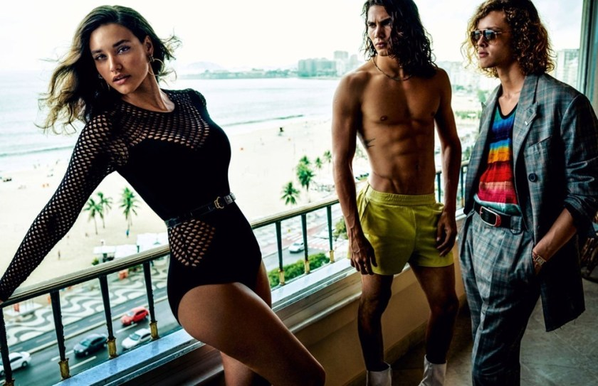 VOGUE HOMMES City of the Gods by Mario Testino. Anastasia Barber, Spring 2017, www.imageamplified.com, Image Amplified6