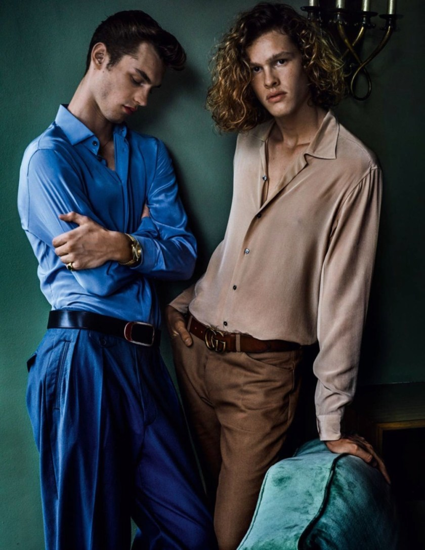 VOGUE HOMMES City of the Gods by Mario Testino. Anastasia Barber, Spring 2017, www.imageamplified.com, Image Amplified8