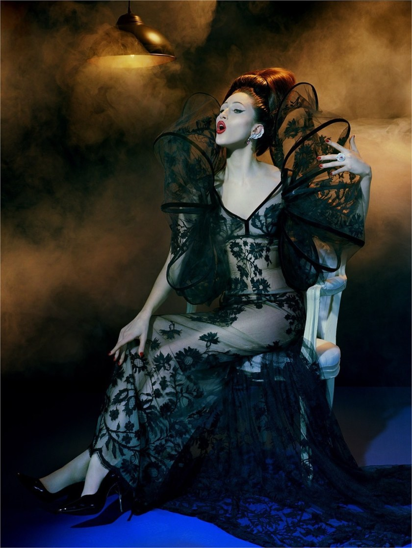VOGUE ITALIA Anna Cleveland by Miles Aldridge. Alice Gentilucci, March 2017, www.imageamplified.com, Image Amplified6