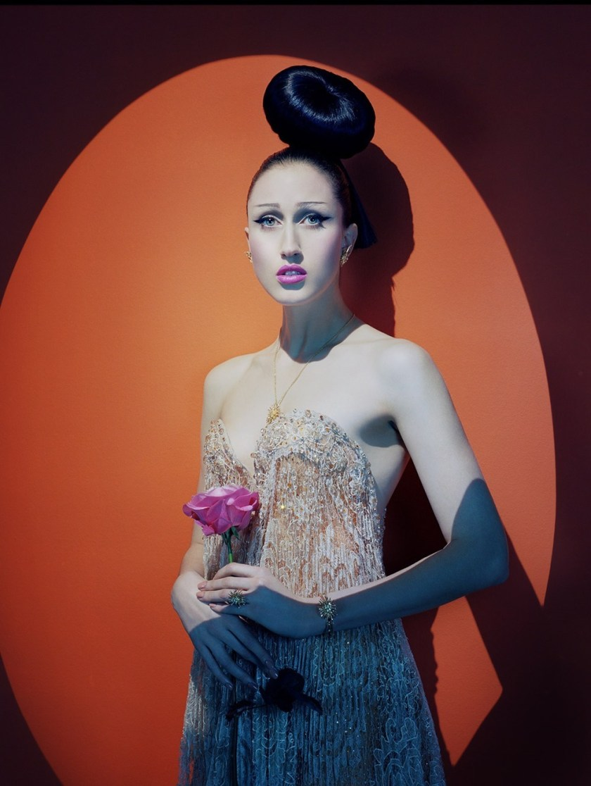 VOGUE ITALIA Anna Cleveland by Miles Aldridge. Alice Gentilucci, March 2017, www.imageamplified.com, Image Amplified8