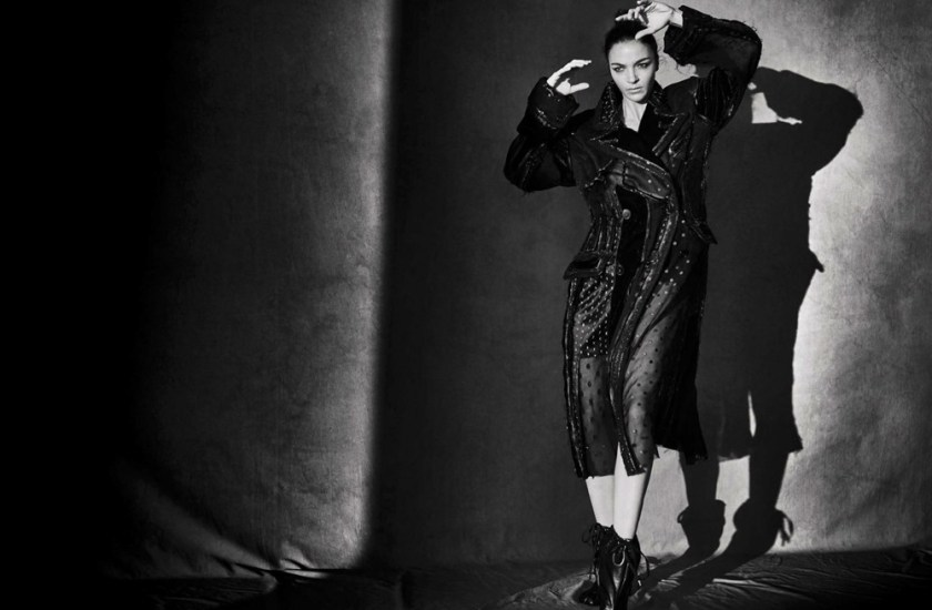 VOGUE ITALIA Mariacarla Boscono by Peter Lindbergh. George Cortina, March 2017, www.imageamplified.com, Image Amplified6