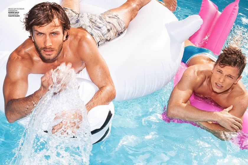 ADON MAGAZINE Pool Boys by Michele de Andreis. Spring 2017, www.imageamplified.com, Image Amplified3