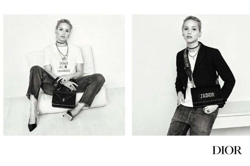 CAMPAIGN Jennifer Lawrence for Dior Handbags Spring Fall 2017 by Brigitte Lacombe. www.imageamplified.com, Image Amplified2