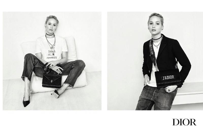 914b7fa7fa CAMPAIGN Jennifer Lawrence for Dior Handbags Spring Fall 2017 by Brigitte  Lacombe. www.imageamplified ...
