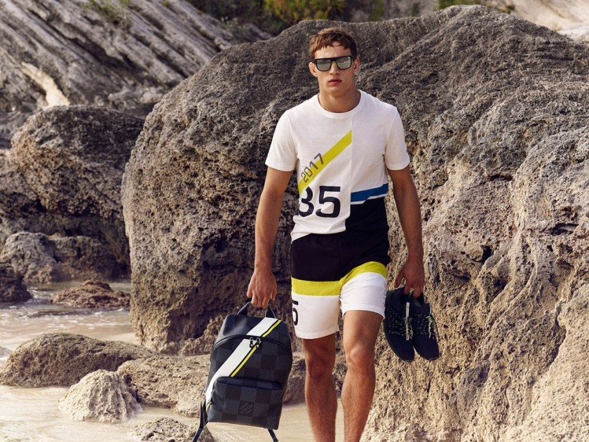 CAMPAIGN Julian Schneyder for Louis Vuitton America's Cup Collection 2017 by Bruno Staub. www.imageamplified.com, Image Amplified3