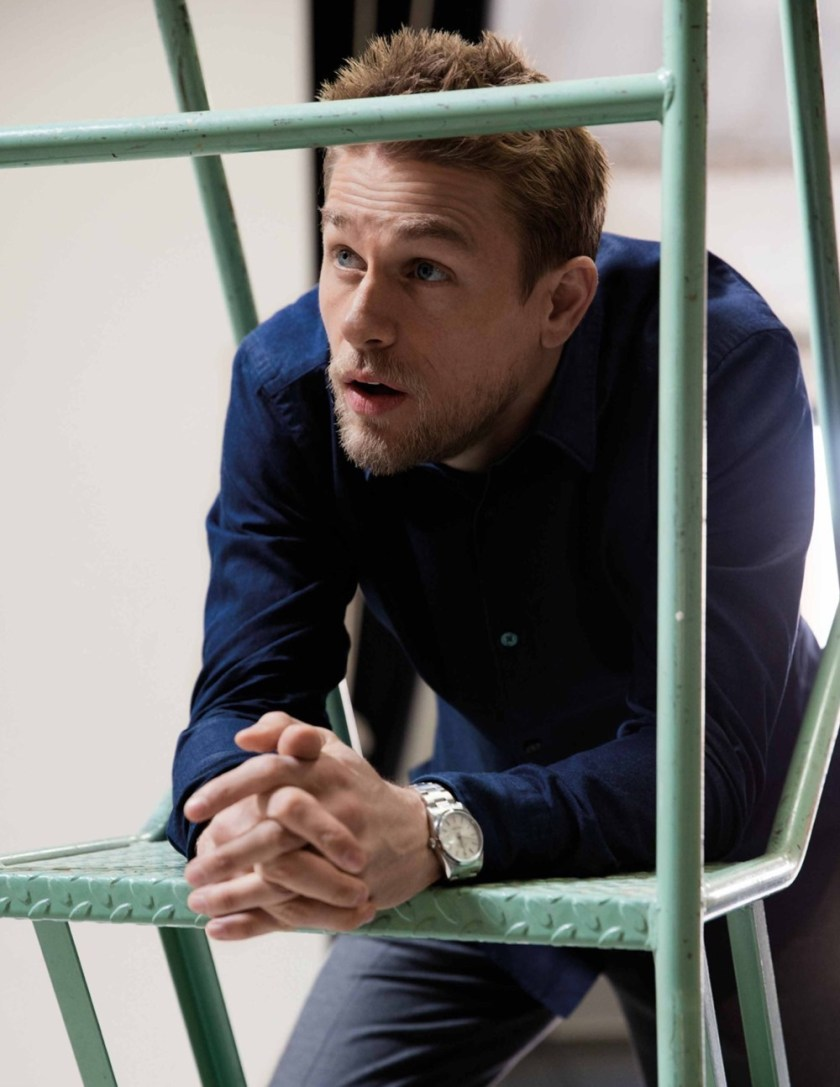 DAMAN MAGAZINE Charlie Hunnam by Mitchell Nguyen McCormack. Lauren Larocca, May 2017, www.imageamplified.com, Image Amplified6