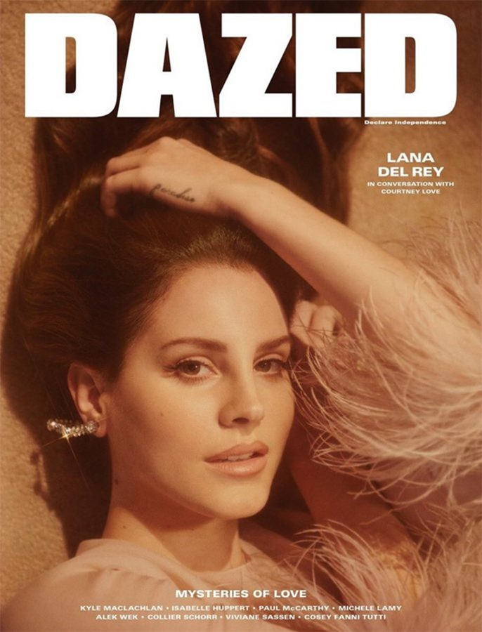 DAZED MAGAZINE Lana Del Rey by Charlotte Wales. Robbie Spencer, Summer 2017, www.imageamplified.com, image Amplified2