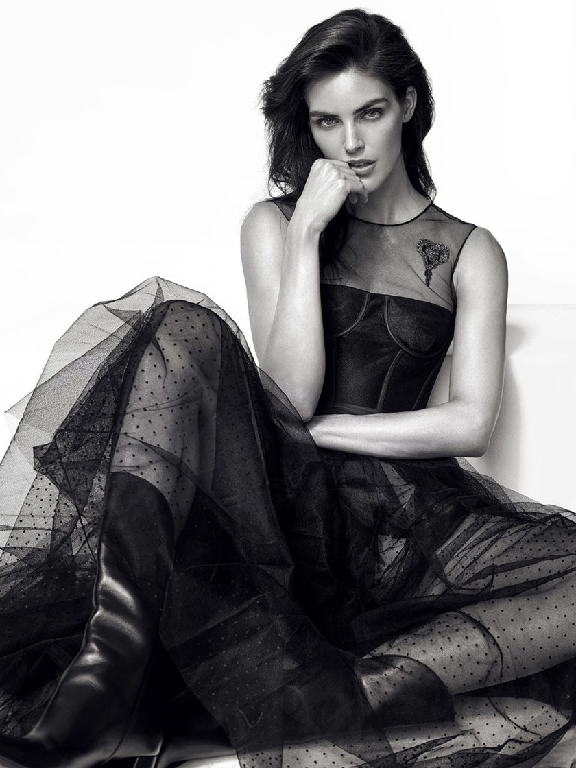 DRESS TO KILL MAGAZINE Hilary Rhoda by Greg Swales. Fritz, Spring 2017, www.imageamplified.com, Image Amplified2