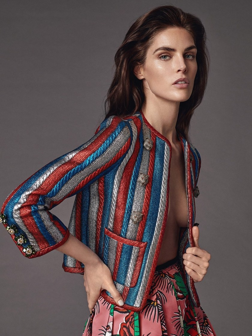 DRESS TO KILL MAGAZINE Hilary Rhoda by Greg Swales. Fritz, Spring 2017, www.imageamplified.com, Image Amplified6