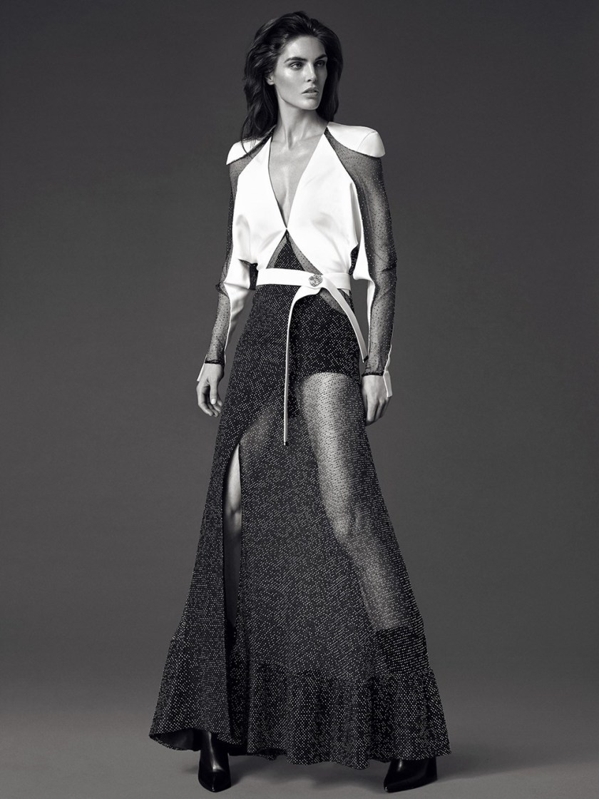 DRESS TO KILL MAGAZINE Hilary Rhoda by Greg Swales. Fritz, Spring 2017, www.imageamplified.com, Image Amplified10