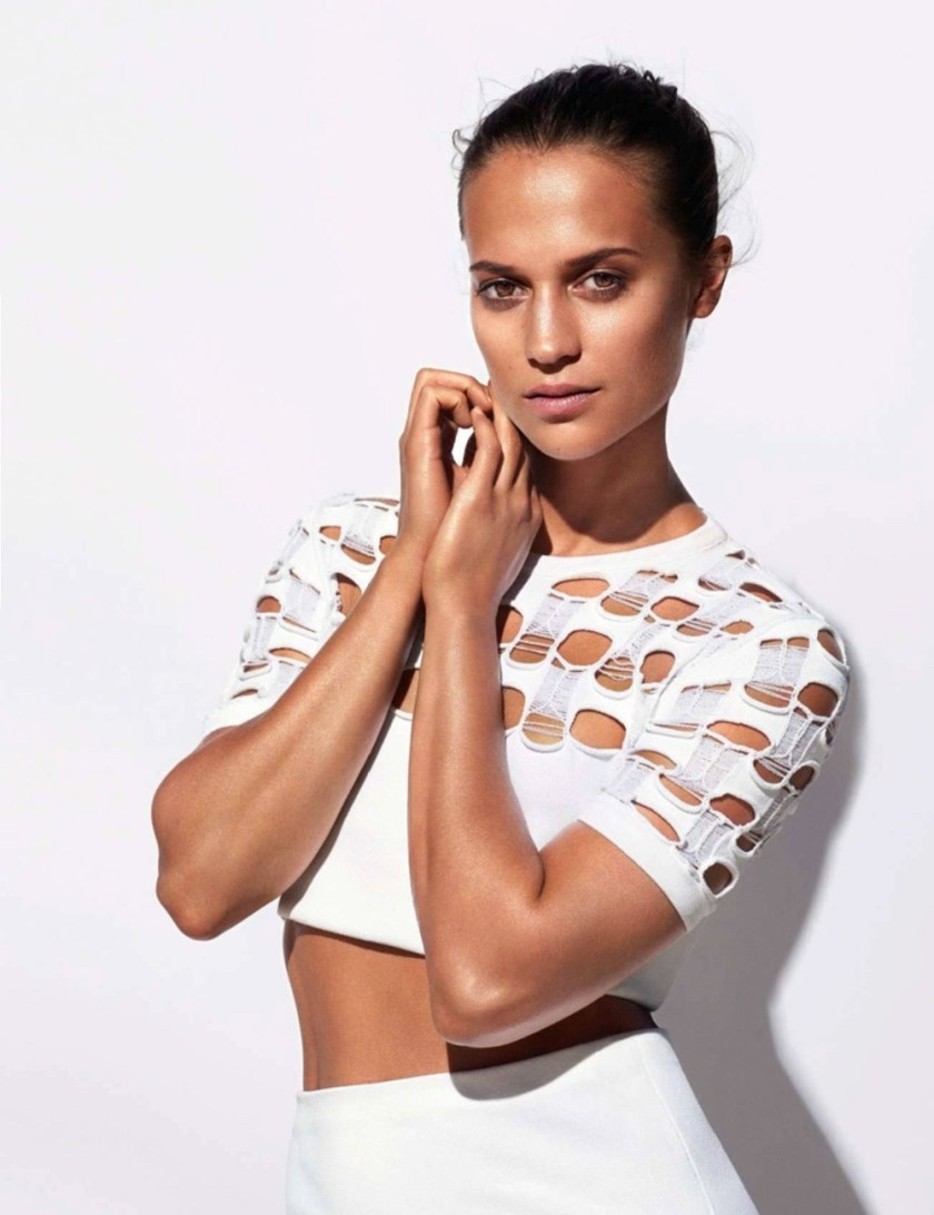 ELLE FRANCE Alicia Vikander & Jeff Koons for Louis Vuitton x Jeff Koons by Mert & Marcus. Rae Boxer, Angelo DeSanto, April 2017, www.imageamplified.com, Image Amplified1