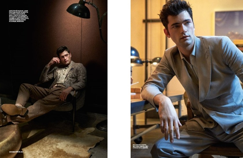 GQ STYLE Sean O'Pry by Walter Chin. Ekaterina Melnikova, April 2017, www.imageamplified.com, Image Amplified5