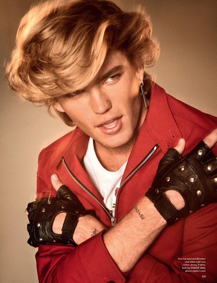 GQ STYLE UK Jordan Barrett by Giampaolo Sgura. Luke Day, Spring 2017, www.imageamplified.com, Image Amplified5