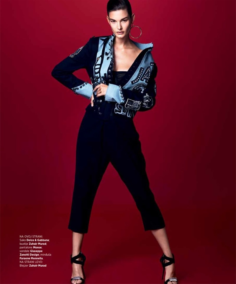 HARPER'S BAZAAR SERBIA Ophelie Guillermand by Andrew Yee. Marko Mrkaja, April 2017, www.imageamplified.com, Image Amplified5