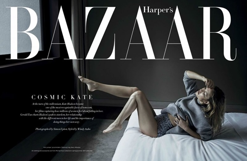 HARPER'S BAZAAR SINGAPORE Kate Hudson by Simon Upton. Windy Julia, April 2017, www.imageamplified.com, Image Amplified2