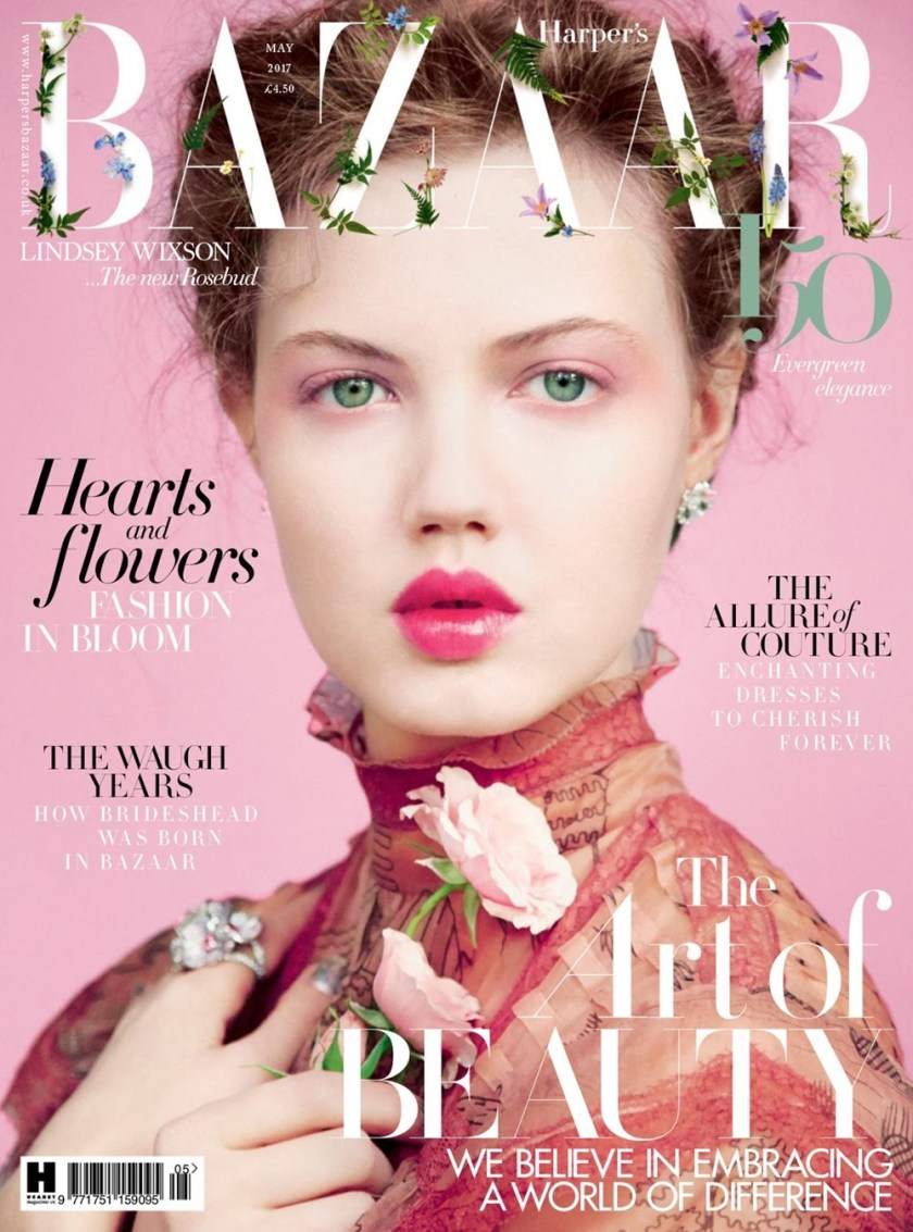 HARPER'S BAZAAR UK Lindsey Wixson by Erik Madigan Heck. Leith Clark, May 2017, www.imageamplified.com, Image Amplified1