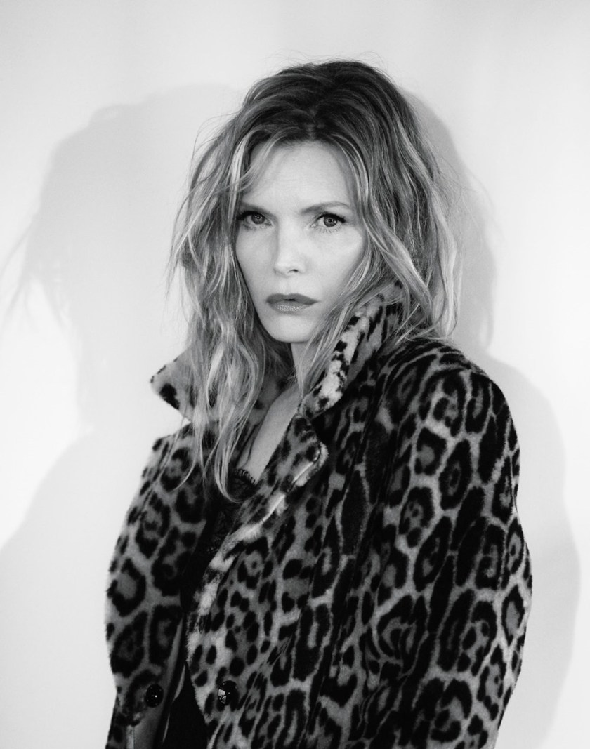 INTERVIEW MAGAZINE Michelle Pfeiffer by Mikael Jansson. George Cortina, April 2017, www.imageamplified.com, Image Amplified3