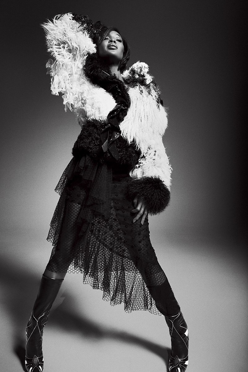 KING KONG MAGAZINE Naomi Campbell by Jack Waterlot. Simon Rasmussen, Spring 2017, www.imageamplified.com, Image Amplified5