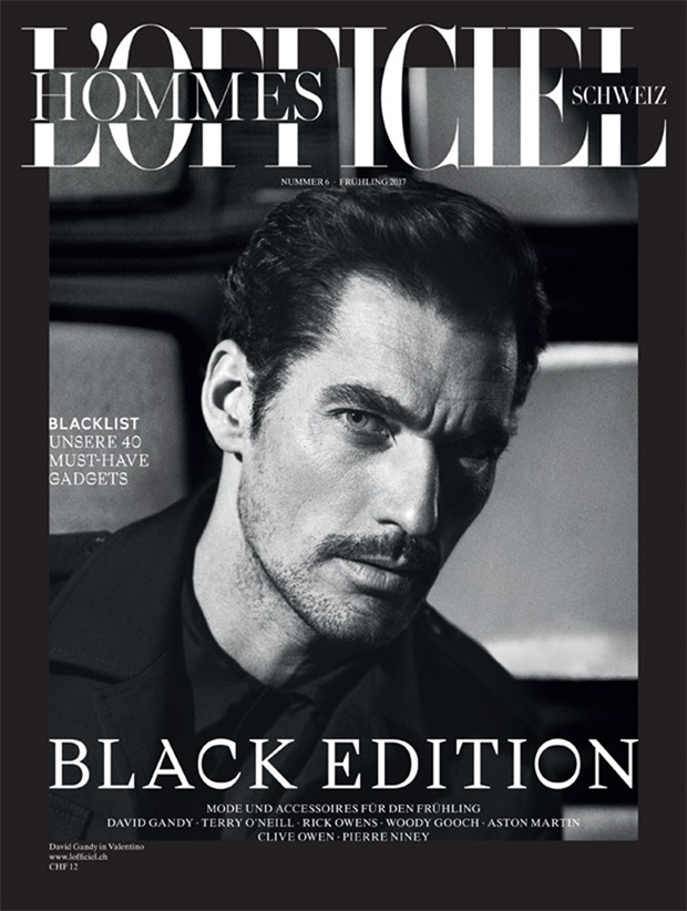 L'OFFICIEL HOMMES SWITZERLAND David Gandy by Olivier Yoan. Christopher Maul, Spring 2017, www.imageamplified.com, Image Amplified1