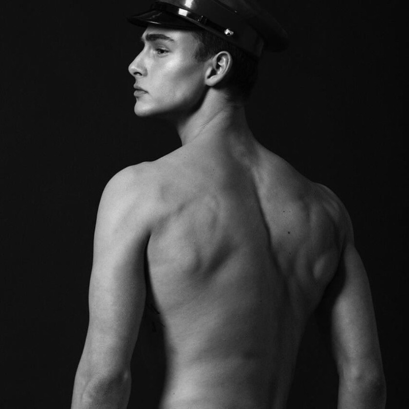 MASCULINE DOSAGE Justin Petzchke by Frederic Monceau. Spring 2017, www.imageamplified.com, Image amplified2