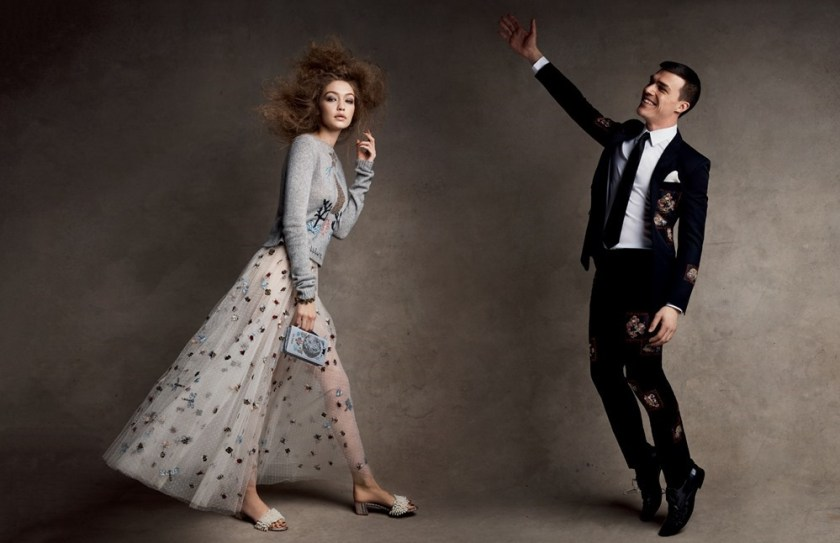 VOGUE MAGAZINE Craft Culture by Patrick Demarchelier. Tabitha Simmons, April 2017, www.imageamplified.com, Image Amplified6