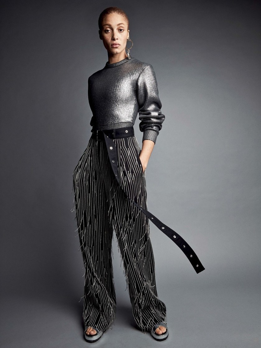 VOGUE MAGAZINE Heavy Metals by Patrick Demarchelier. Camilla Nickerson, May 2017, www.imageamplified.com, Image Amplified1