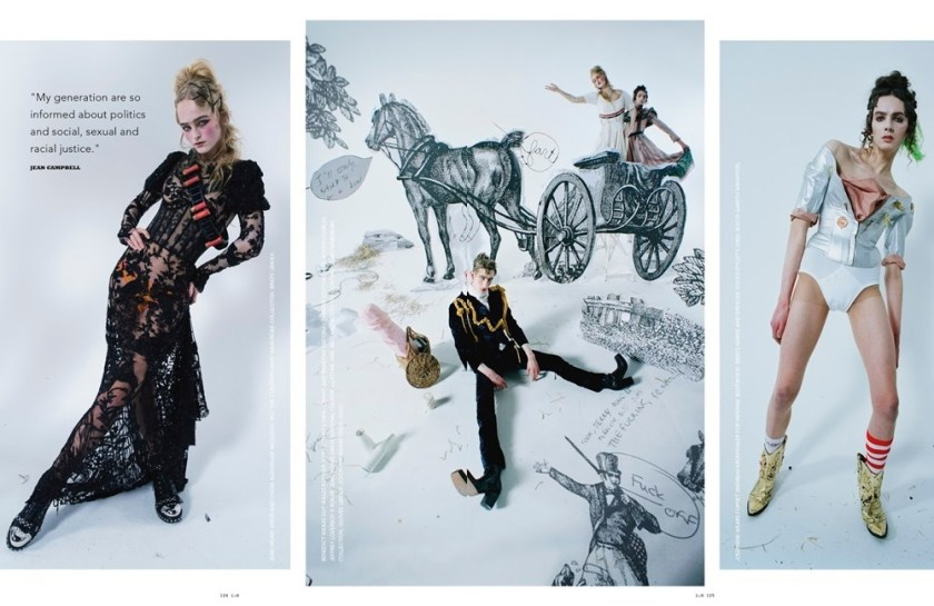 I-D MAGAZINE Take Me To Wonderland by Tim Walker. Jack Appleyard, Gareth Wrighton, Summer 2017, www.imageamplified.com, Image Amplified4