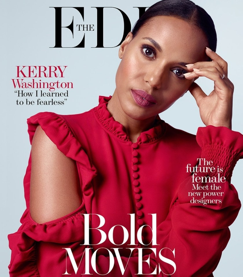THE EDIT Kerry Washington by Kerry Hallihan. Tracy Taylor, Summer 2017, www.imageamplified.com, Image Amplified6