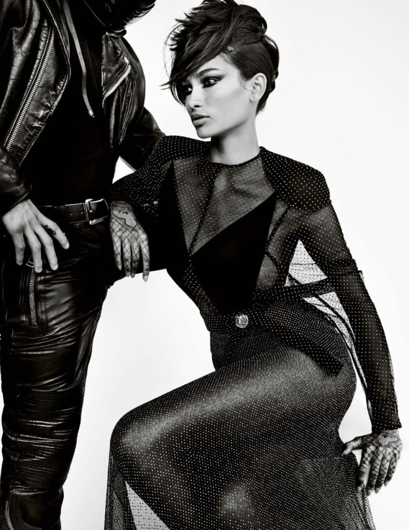 VOGUE ITALIA Kelly Gale & Hopper Penn by Mario Testino. Paul Cavaco, April 2017, www.imageamplified.com, Image Amplified6
