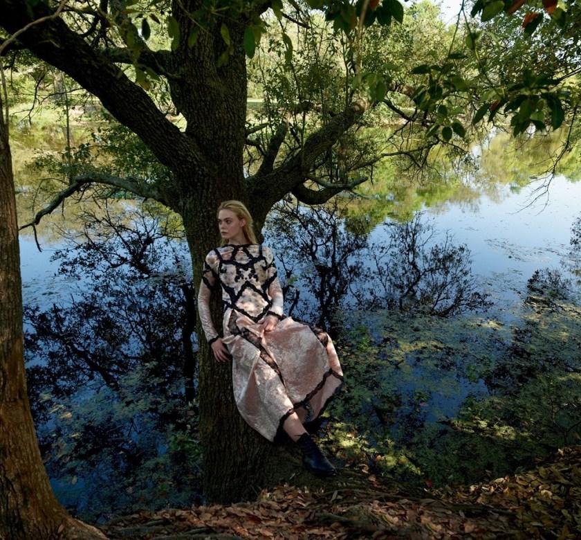 VOGUE MAGAZINE Elle Fanning by Annie Leibovitz. Grace Coddington, June 2017, www.imageamplified.com, Image Amplified5