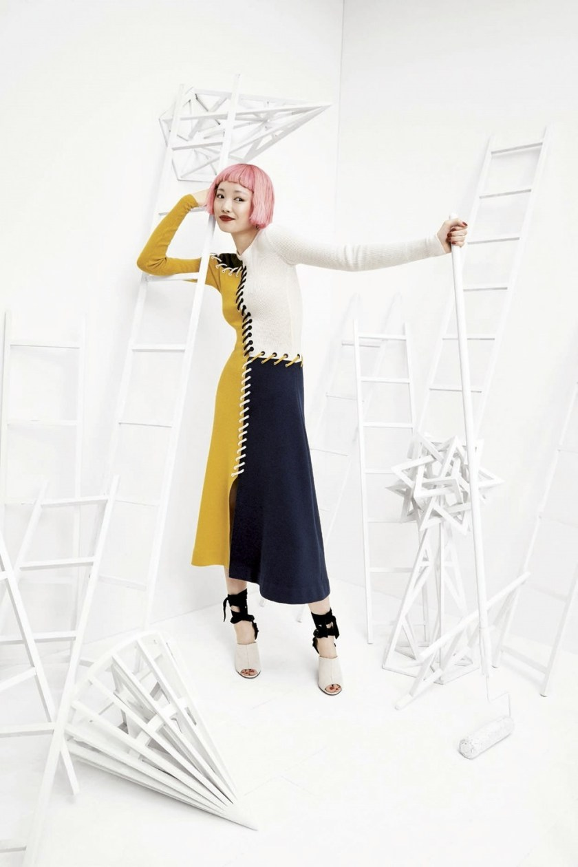 BERGDORF GOODMAN Fernanda Ly by Coliena Rentmeester. Anne Christensen, Fall 2017, www.imageamplified.com, Image Amplified2