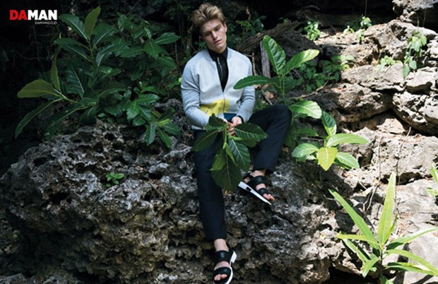 DAMAN MAGAZINE Oliver Cheshire by Mitchell Nguyen McCormack. Peter Zewet, July 2017, www.imageamplified.com, Image Amplified5