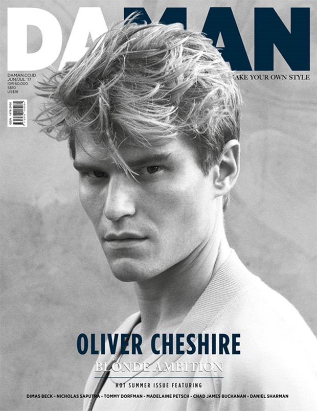 DAMAN MAGAZINE Oliver Cheshire by Mitchell Nguyen McCormack. Peter Zewet, July 2017, www.imageamplified.com, Image Amplified1