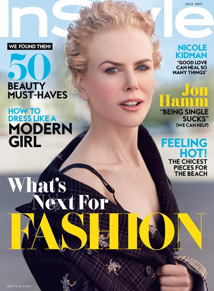 INSTYLE Nicole Kidman by Will Davidson. Julia von Boehm, July 2017, www.imageamplified.com, Image Amplified1