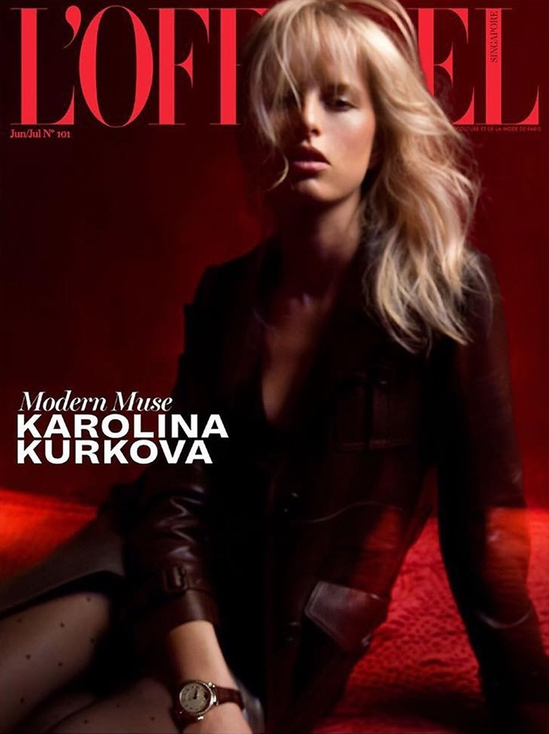 L'OFFICIEL SINGAPORE Karolina Kurkova by Damian Krisl. Monica Mong, July 2017, www.imageamplified.com, Image Amplified1