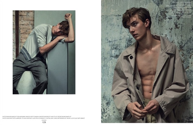 NARCISSE MAGAZINE Lucky Blue Smith by Marcin Tyszka. Rene Gloor, Summer 2017, www.imageamplified.com, Image Amplified7